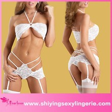 Wholesale hot sale High quality white pictures of women in garter belt