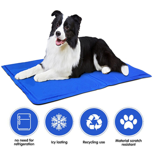 Dog Cooling Pad Bed Self Cooling Gel Bed Cool mat for pet