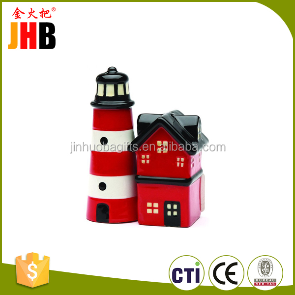 New arrivals polyresin home ornament souvenir toy lighthouse