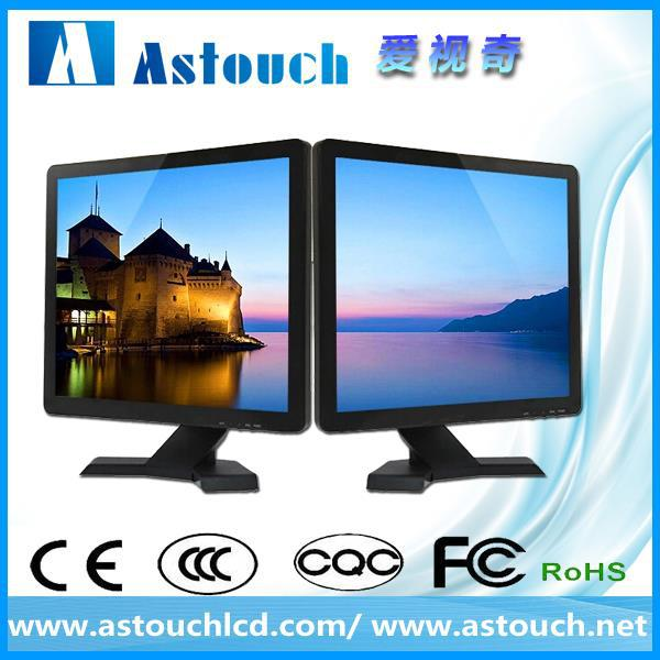 lcd monitor wholesale 17'' cheap led monitor tv CE FCC ROHS