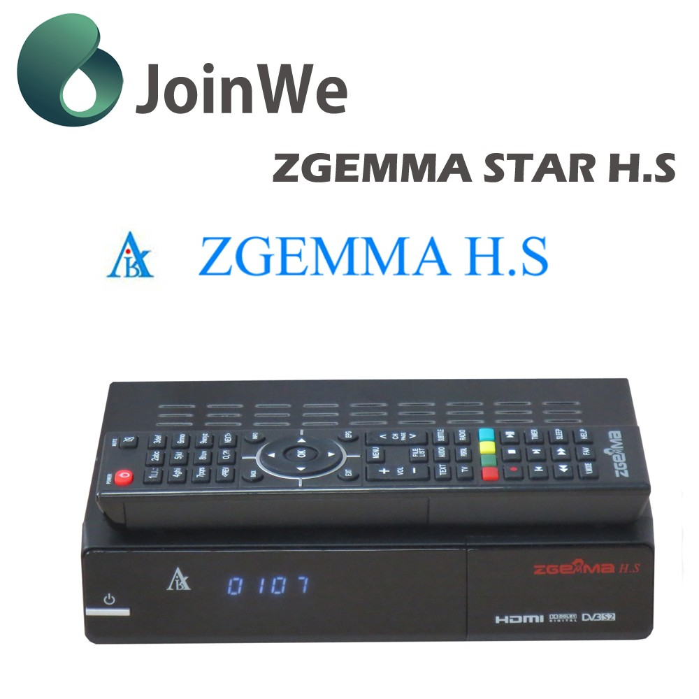 High quanlity Zegmma-star HS satellite tv box 1080p digital linux system hd set top box for sale