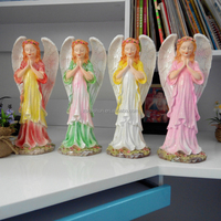 Fengshui product Polyresin angel statue Angel sculpture Other gifts & crafts