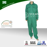 Cotton safety flame retardant one piece work overall