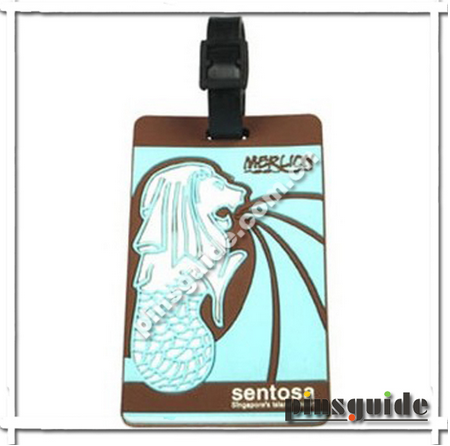 Personalized Airline Soft PVC Travel Cheap Luggage Tag
