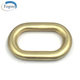 Eco-friendly Wholesale Nickle Free Matt Gold Square Ring Metal Rectangle Ring for Bag