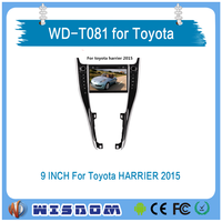 WISDOM Wince car dvd gps for toyota harrier 2015 2016 car radio dvd player Car GPS Navigation System