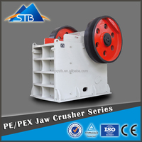 Waste recycling machine/PE waste concrete jaw crusher