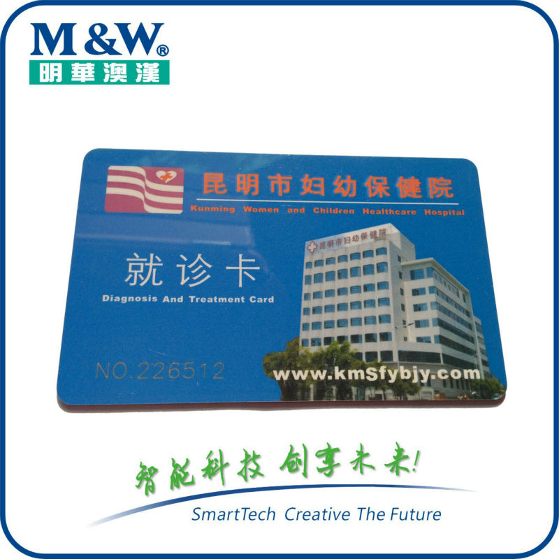 Contactless Card or Dual Interface Smart Card 80KB