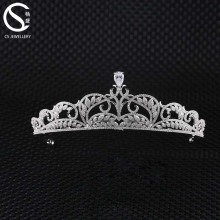 Wholesale Ladies Bridal Crown Tiaras with CZ Zirconia Custom Pageant Crown