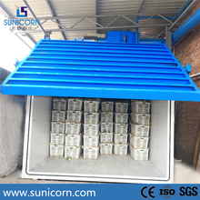 Customized large commercial 1 - 12 pallets leaf vegetable vacuum cooler