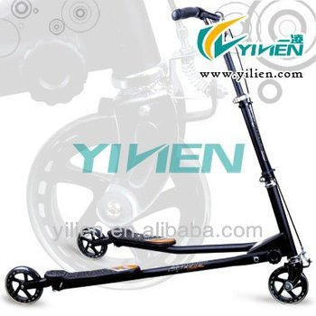 200mm big wheel kick scooter frog scooter three wheel tricker scooter