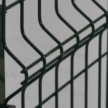 4mm 5mm coated black welded wire fence mesh panel