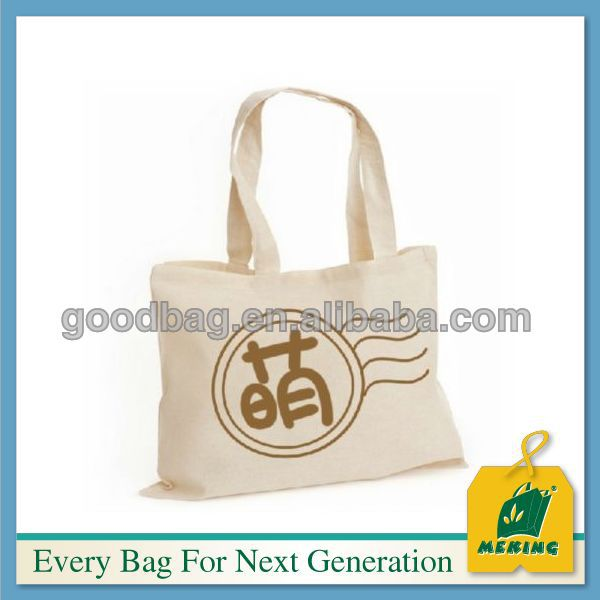eco friendly bag 100% orignial cotton bag canvas tote bag