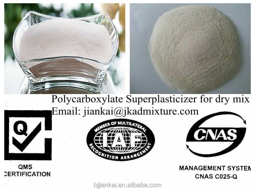 Polycarboxylate Super plasticizer for high strength dry mix