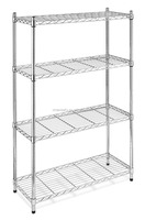 NSF & ISO Approved Chrome Plated or Stainless Steel 304 Wire Shelving Shelves