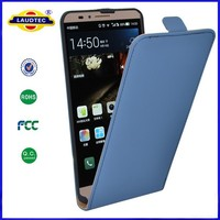 Ultra Slim PU Leather Flip Case Hard Shell Back Cover for Huawei Ascend Mate 7 Phone Accessory Laudtec