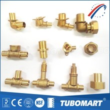 High quality TUBOMART 140 series DZR PEX pipes sliding brass fittings