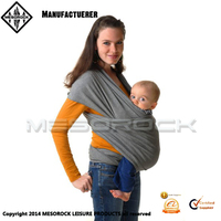 Most popular wholesale soft comfortable infant wrap baby sling carrier