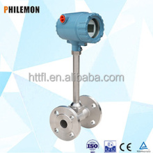 Super heat vortex flow meter principle supplier in china