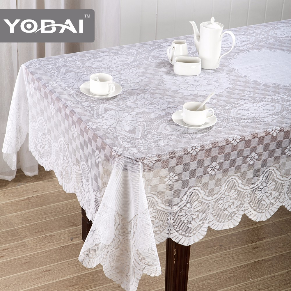 Weighted Lace Table Cloth German Tablecloth