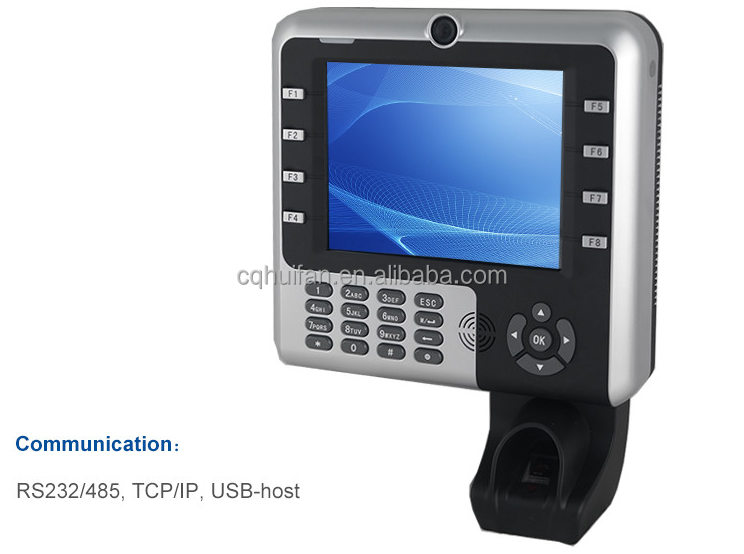 HF Iclock2500 Easily to Reset ZK TECO Fingerprint Time Attendance with Websever