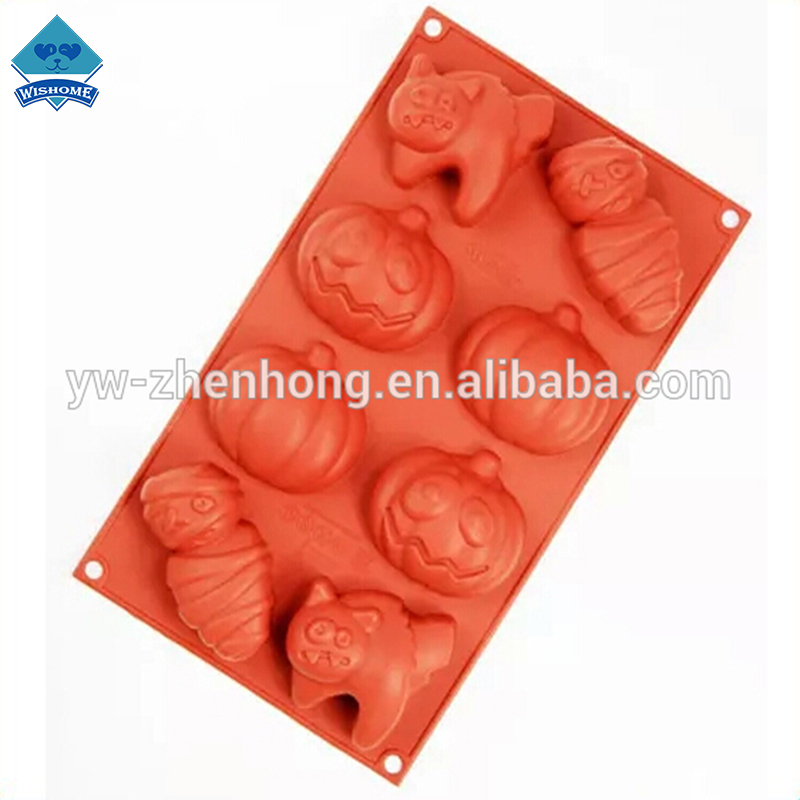 Pop High Quality Halloween Theme Lovely Silicon Cake Mold