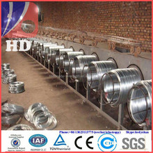 electro galvanizing plant / galvanized binding wire price from direct factory