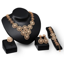 African gold plating jewelr ruby jewel 18K Gold Plating Fashion Jewelry Set,Elegant Women Noble Gold Jewelry for Party&Weddings