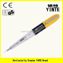 China Factory Mine voltage AC150-1500v test pen screwdriver with AS material and long-life neon light