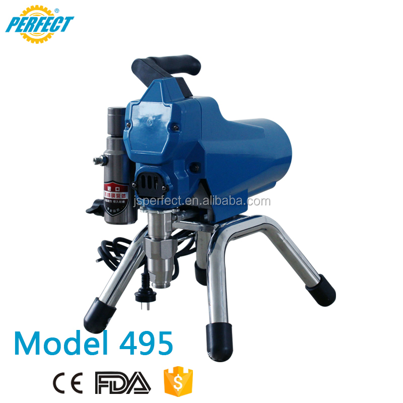 Best portable automatic paint electric power airless paint high pressure airless spraying machine for latex paint/ home users