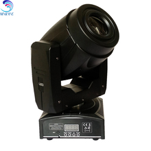 Newest Small Housing black 60w Led Moving Head Spot Light Cheap Stage Lights 3prism gobo effect