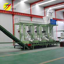Mini cattle feed mill complete animal feed pellet production line