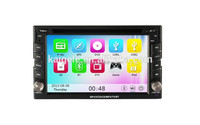HuiFei Capacitive Touch Screen 6.2 Inch Doubel Din Car Navigation For Auto Parts 3G WIFI GPS BT
