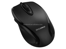avaliable in leather graining finish,integrated low battery indication wired mouse