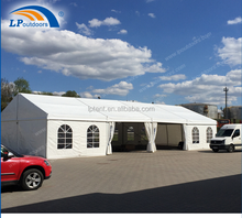 10m clear span outdoor marquee warehouse storage tent for exhibition show