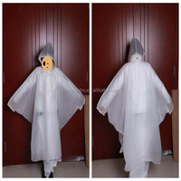 China supplier waterproof rain poncho with sleeves