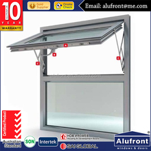 Australian standard aluminium chain winder awning /top hung window frame with different color choice