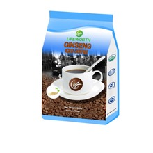 Lifeworth instant ginseng coffee powder with natural herbs Ganoderma extract