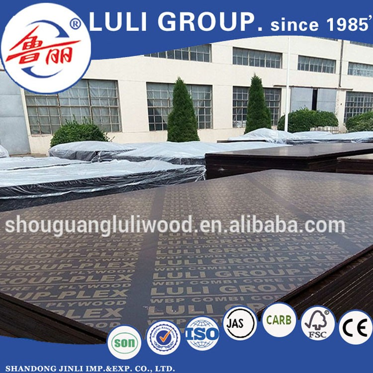 Chinese factory good quality construction film faced plywood