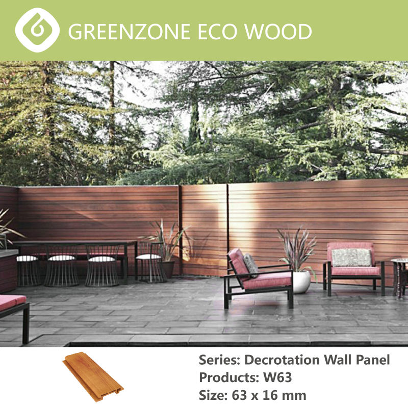 exclusive design decorative wood plastic textured wall board wpc material
