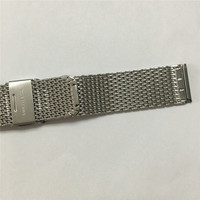 18mm 20mm 22mm low moq ladies metal mesh wrist watch bands