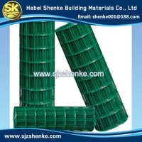 Low Carbon Wire 1/2 Inch Plastic Coated Welded Wire Mesh