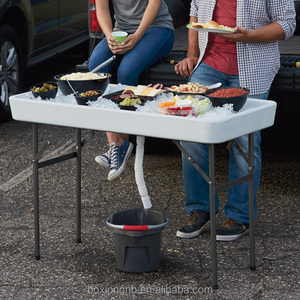 New Ice Party Table - The Perfect Camp Table