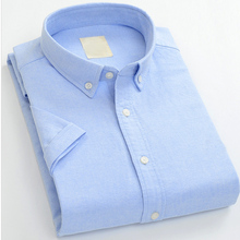 Solid color slim fit top brand casual shirts supplier