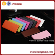 China supplier ultra slim vertical flip cell phone cover for alcatel one touch pop c5 case wholesale alibaba