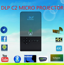 Brand New C2 Smart Mini Projector Portable Wifi Android 1G 16G Mobile Phone Mini Projector