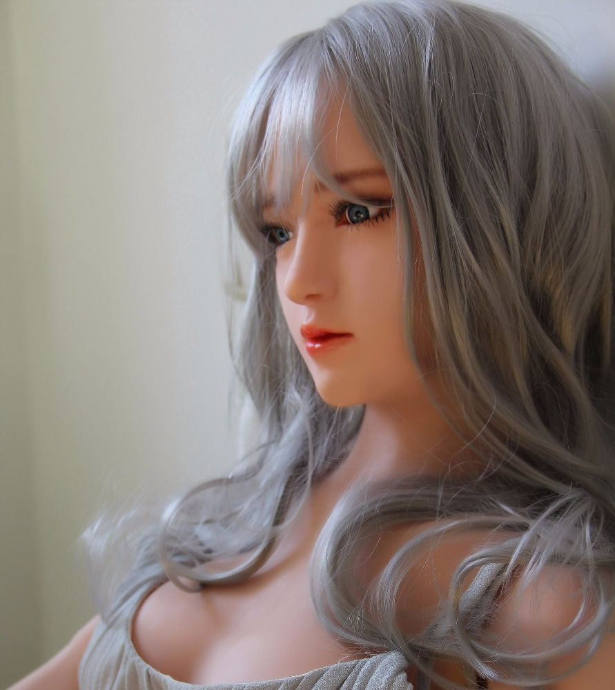 Factory price wholesale 158cm sexy nude real silicone love sex doll
