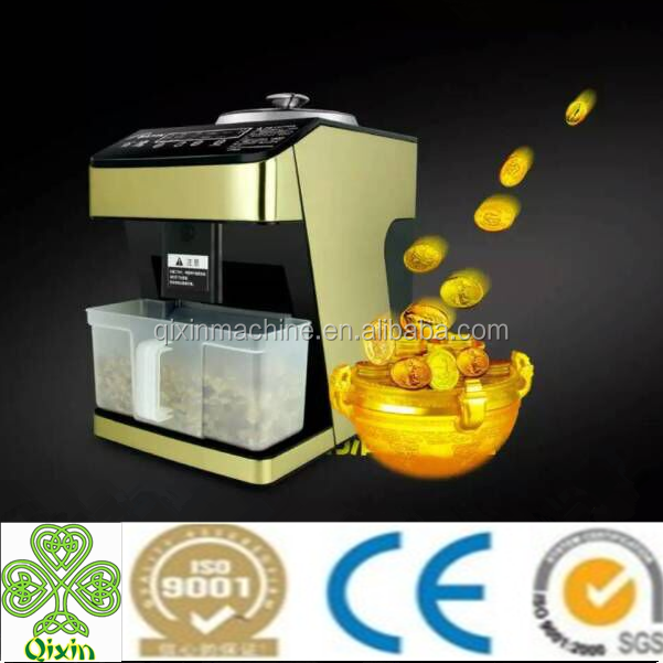 High quality stainless steel oil Expeller/small oil Expeller machine home use
