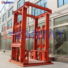 Cheap good outdoor building lift elevator for cargo lifting