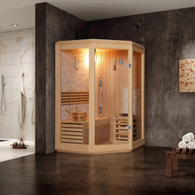 Home use sauna steam room combination and 3 kw,6 kw,or 9 kw sawo sauna heater